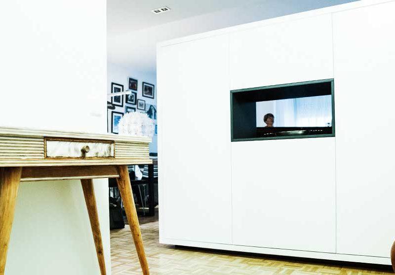 Interiorista Barcelona reformas proyectos salón mueble especial