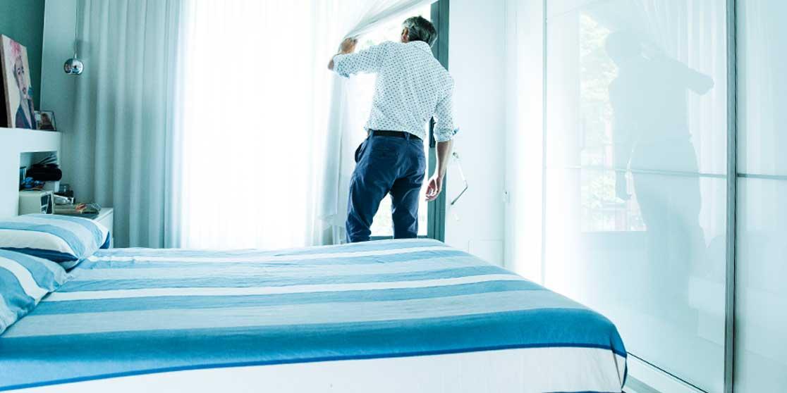 Interiorista Barcelona refomas dormitorios blanco