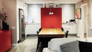 Interiorista Barcelona reformas proyectos sala cocina mesa comedor