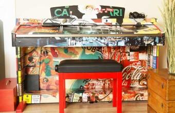 Interiorista Barcelona tuneado pianos vintage