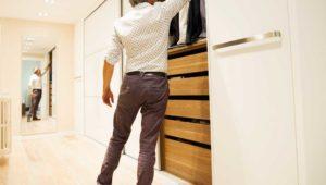 Interiorista Barcelona proyectos reformas viviendas habitacion armario