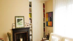 Interiorista Barcelona proyectos reformas viviendas salon mueble blanco
