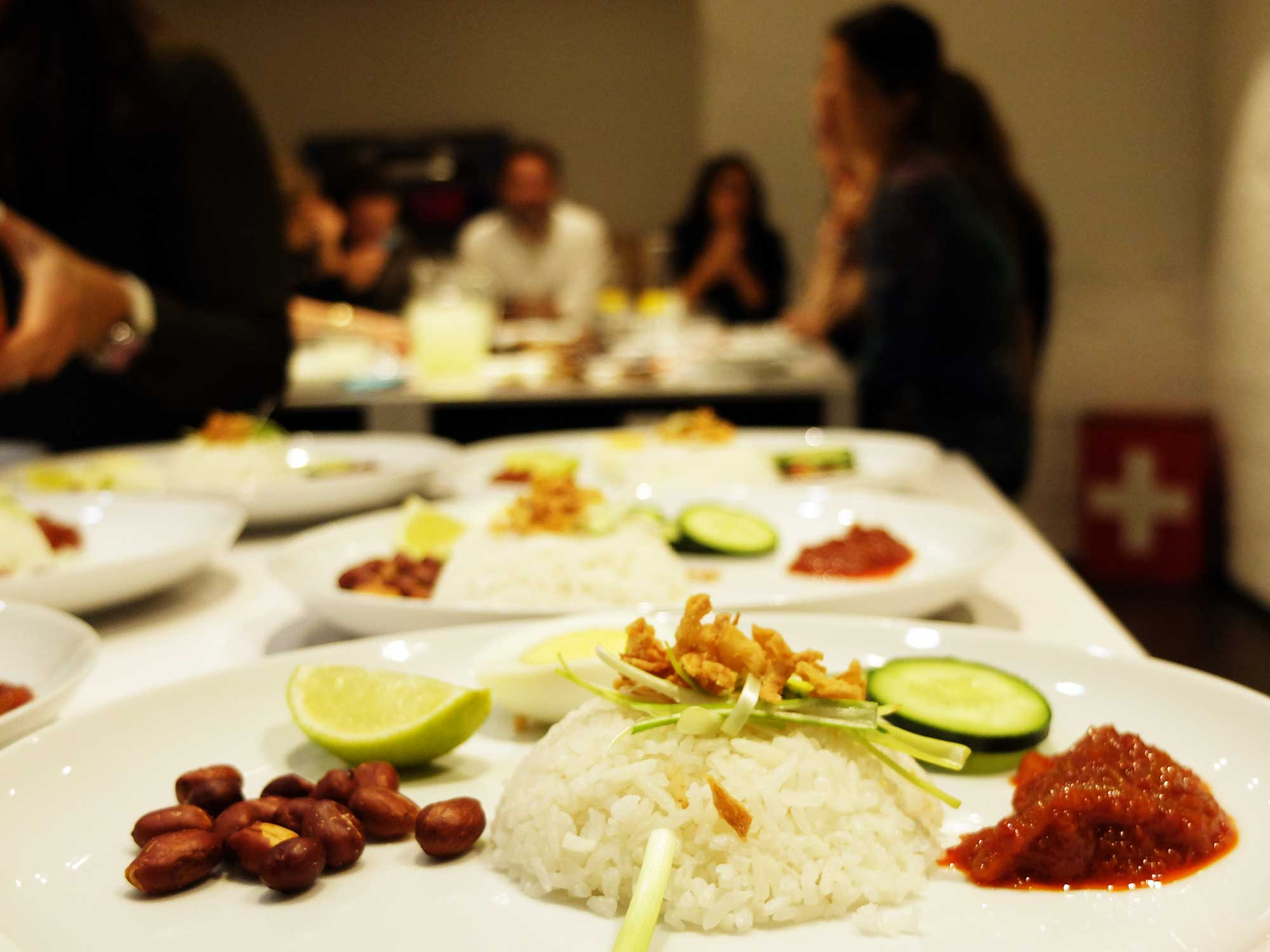 Talleres de cocina. Espacio Polivalente Interiorismo Evento privado