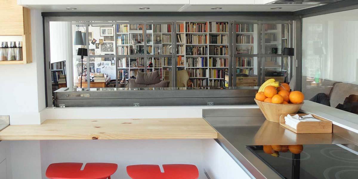 Interiorista Barcelona proyectos reformas viviendas salon cocina