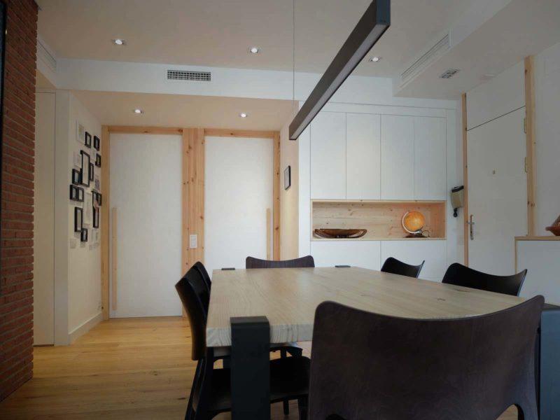 Interiorista Barcelona proyectos reformas viviendas Sala