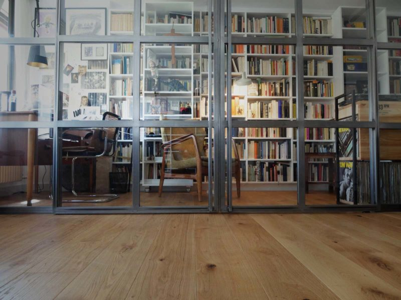 Interiorista Barcelona proyectos reformas viviendas Libreria