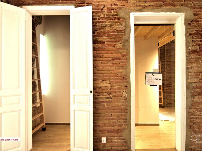 Obras. DINS interioristes, Barcelona proyectos, interiorismo, reformas viviendas